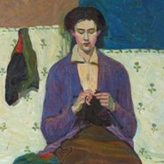 Image: Grace Cossington-Smith The sock knitter 1915 (detail), Art Gallery of New South Wales, © Estate of Grace Cossington Smith