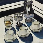 Image: Margaret Preston Implement blue 1927 © the artist's estate