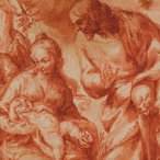 Image: Francisco Camilo The rest of the Holy Family on the flight into Egypt c1650–70 (detail) drawing © The Trustees of the British Museum
