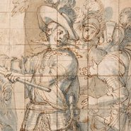 Image: Vicente Carducho The Duke of Feria at the siege of Rheinfelden 1634 (detail) drawing © The Trustees of the British Museum