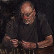 Image: Jordan Richardson John (detail), Archibald Prize 2017 finalist