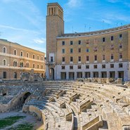 Image: Roman Amphitheatre in Lecce Puglia