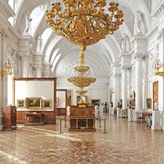 Image: The Winter Palace in Saint Petersburg, Russia.