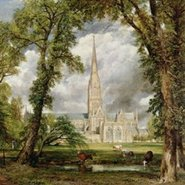 Image: John Constable View of Salisbury Cathedral from the Bishop's Grounds c1822 (detail)oil on canvas, Victoria & Albert Museum, London, UK. Bridgeman Images