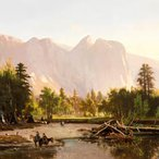 Image: William Keith Yosemite Valley 1875 (detail), Los Angeles County Museum of Art, AT Jergins Bequest, photo © Museum Associates / LACMA