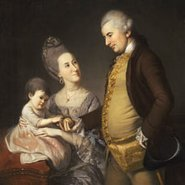 Image: Charles Willson Peale Portrait of John and Elizabeth Lloyd Cadwalader and their daughter Anne 1772 (detail), Philadelphia Museum of Art, purchased for the Cadwalader Collection with funds contributed by the Mabel Pew Myrin Trust and the gift of an anonymous donor 1983