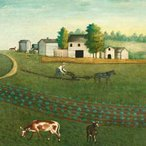 Image: Unknown artist He that tileth his land shall be satisfied 1850 (detail), Philadelphia Museum of Art, The Collection of Edgar William and Bernice Chrysler Garbisch 1965