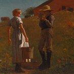 Image: Winslow Homer A temperance meeting 1874 (detail), Philadelphia Museum of Art, purchased with the John Howard McFadden Jr Fund, 1956
