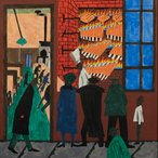 Image: Jacob Lawrence Bar-b-que 1942 (detail), Terra Foundation for American Art, Daniel J Terra Collection Art Acquisition Fund © 2013 The Jacob and Gwendolyn Lawrence Foundation, Seattle / Artists Rights Society (ARS), New York. Image courtesy of DC Moore Gallery, New York.