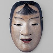 Image: Nō mask Kasshiki (kokasshiki), Muromachi period, 16th century, Agency for Cultural Affairs of Japan