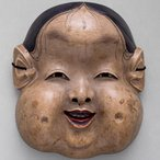 Image: Kyōgen mask Oto, Edo period, 18th century, National Noh Theatre