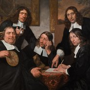 Image: Jan Bray The governors of the Guild of St Luke, Haarlem 1675 (detail), Rijksmuseum