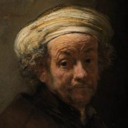 Image: Rembrandt Self-portrait as the apostle Paul 1661 (detail), Rijksmuseum, De Bruijn-van der Leeuw Bequest, Muri, Switzerland