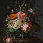 Image: Rachel Ruysch Still life with flowers on a marble tabletop 1716, Rijksmuseum, purchased with the support of the Vereniging Rembrandt