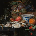Image: Abraham Mignon Still life with fruit, oysters, and a porcelain bowl 1660–79 (detail), Rijksmuseum, purchased with the support of the Vereniging Rembrandt