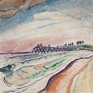 Image: Grace Cossington Smith Bulli pier, south coast 1931 (detail), private collection © Estate of Grace Cossington Smith