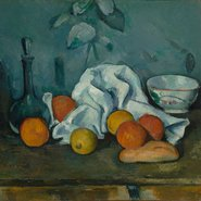 Image: Paul Cézanne Fruit 1879-80 (detail). The State Hermitage Museum, St Petersburg.