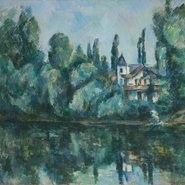 Image: Paul Cézanne Banks of the Marne c1888 (detail), The State Hermitage Museum, St Petersburg