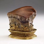 Image: Qing dynasty 1644–1911 Meat-shaped stone, The National Palace Museum, Taipei. Photo © National Palace Museum, Taipei