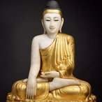 Image: Shakyamuni Buddha early 20th century (detail)