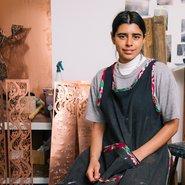 Image: Shireen Taweel. Photograph: Jacquie Manning, courtesy of Parramatta Artist Studios.