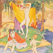 Image: Thea Proctor The bathers c1925