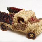 Image: Niningka Lewis Tjanpi Truckpa 2007 (detail), wire, minarri (greybeard grass Amphipogon caricinus), 20 × 18.5 × 38 cm. Art Gallery of NSW, purchased with funds provided by the Aboriginal Collection Benefactors Group 2008 ©  Niningka Lewis. NPY Women's Council