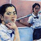 Image: Sharon Xu, North Sydney Girls High School Mirror, mirror(detail), ARTEXPRESS 2019 © the artist