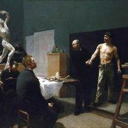 Image: François Sallé The anatomy class at the Ecole des Beaux Arts c1888 (detail)