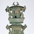 Image: artist unknown Architectural tower: tomb model , 1st century – 2nd century(detail), Art Gallery of New South Wales