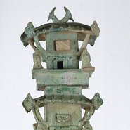 Image: Architectural tower: tomb model, 1st century – 2nd century, artist unknown