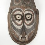 Image: Kapriman people, Blackwater River, Papua New Guinea Gable mask from ceremonial house façade mid-1900s (detail) © Kapriman people, under the endorsement of the Pacific Islands Museums Association's (PIMA) Code of Ethics