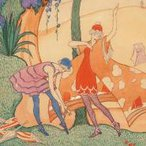 Image: Thea Proctor The seaside c1923 (detail), Cbus collection of Australian art 1991.37 © AGNSW