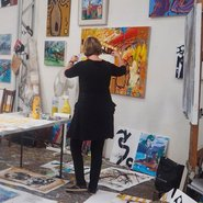 Image: Peter Griffen's studio