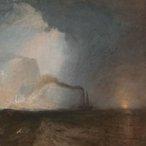 Joseph Mallord William Turner Saffa, Fingal's Cave 1931-32 (detail), oil on canvas, Tate Centre for British Art, Paul Mellon Collection