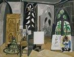 L'atelier de La Californie (The studio of La Californie) 1956