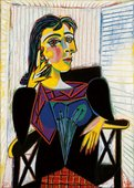 Portrait de Dora Maar (Portrait of Dora Maar) 1937