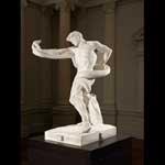 Athlete struggling with a python original 1874–77, marble replica 1888–91