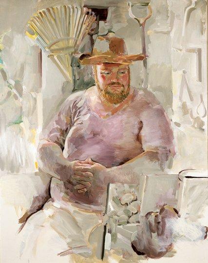 AGNSW prizes Janet Dawson Michael Boddy, from Archibald Prize 1973
