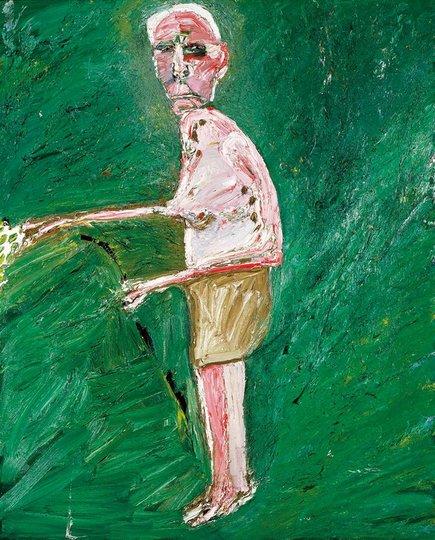 AGNSW prizes Davida Allen Dr John Arthur McKelvie Shera, from Archibald Prize 1986