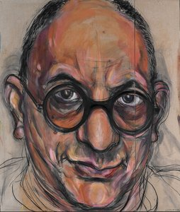 Portrait of Allan Mitelman no 3