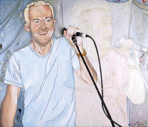 Kerrie Lester: Jimmy Barnes :: Archibald Prize 1999 :: Art ...