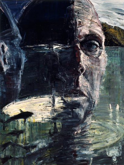 AGNSW prizes Euan Macleod Self-portrait/head like a hole, from Archibald Prize 1999