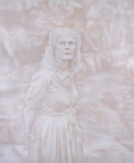 AGNSW prizes Fiona Lowry Penelope Seidler, from Archibald Prize 2014