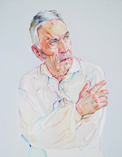 AGNSW prizes Julian Meagher John Waters – the clouds will cloud, from Archibald Prize 2014