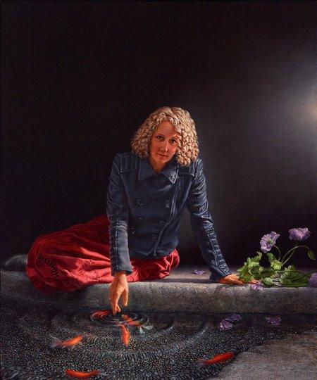 AGNSW prizes Andrew Mezei Morpheus, from Archibald Prize 2014
