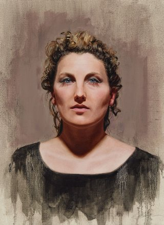 AGNSW prizes Adam Alcorn Alice Fraser, from Archibald Prize 2015