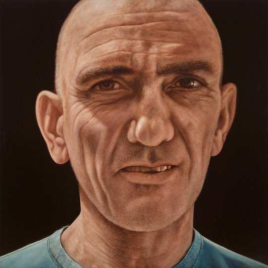 AGNSW prizes Jason Benjamin I sat by the river. I waited by the road, from Archibald Prize 2015