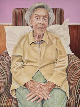 AGNSW prizes Filippa Buttitta Judy Cassab ‒ portrait of an artist, from Archibald Prize 2015