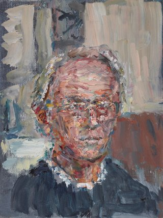 AGNSW prizes Tom Carment Self-portrait at 60, from Archibald Prize 2015